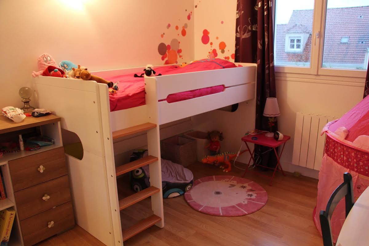 lit enfant mi hauteur spark blanc et h tre naturel 90x200cm et matelas. Black Bedroom Furniture Sets. Home Design Ideas