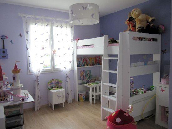 Lit mezzanine enfant wax blanc 90x190 cm - Lit mezzanine julien ...
