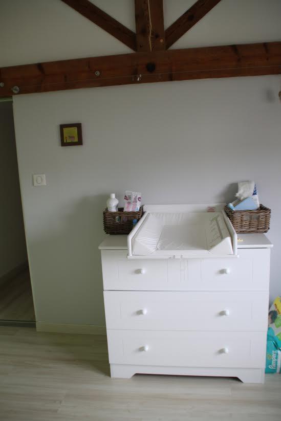 Mini chambre b b oslo blanche plan langer for Organiser commode bebe