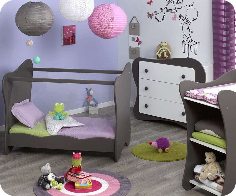 Chambre fille parme et taupe for Chambre fille taupe