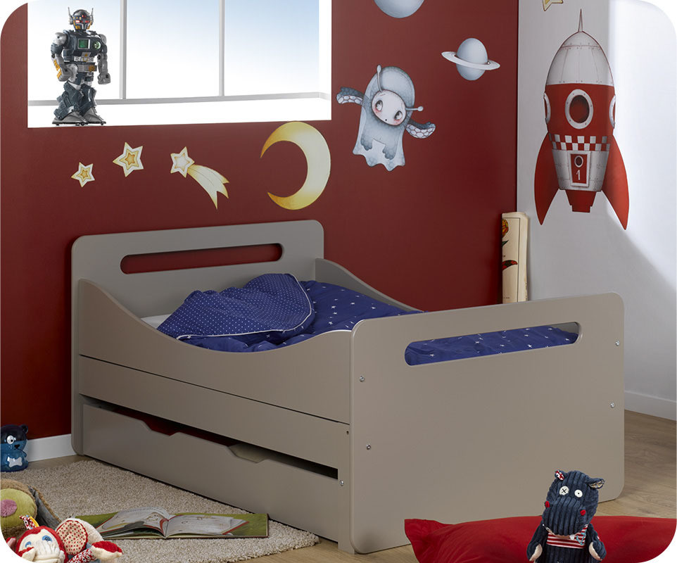 lit enfant volutif eden lin 90x140 cm. Black Bedroom Furniture Sets. Home Design Ideas
