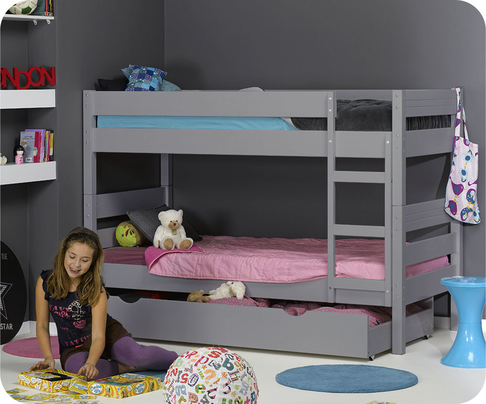 lit enfant 90 190. Black Bedroom Furniture Sets. Home Design Ideas