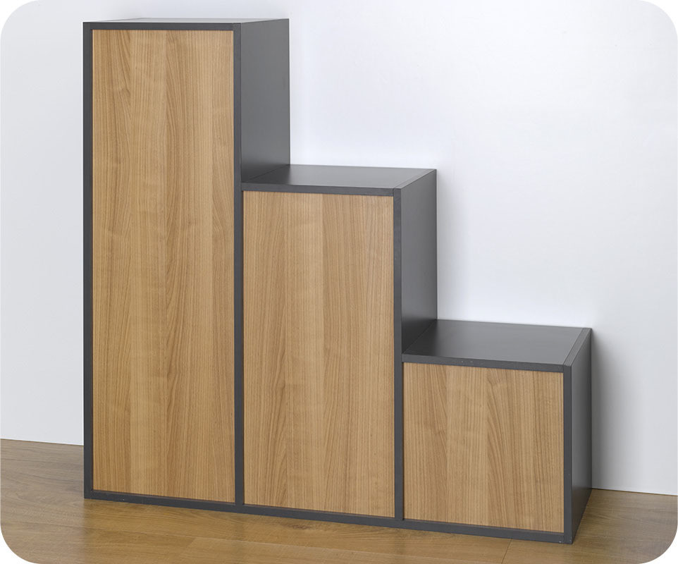 rangements modulables des rangements modulables pour. Black Bedroom Furniture Sets. Home Design Ideas