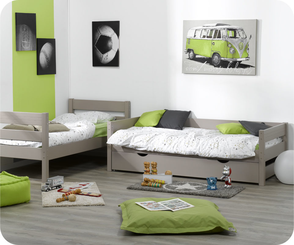lit superpos kids lin 90x190 cm. Black Bedroom Furniture Sets. Home Design Ideas