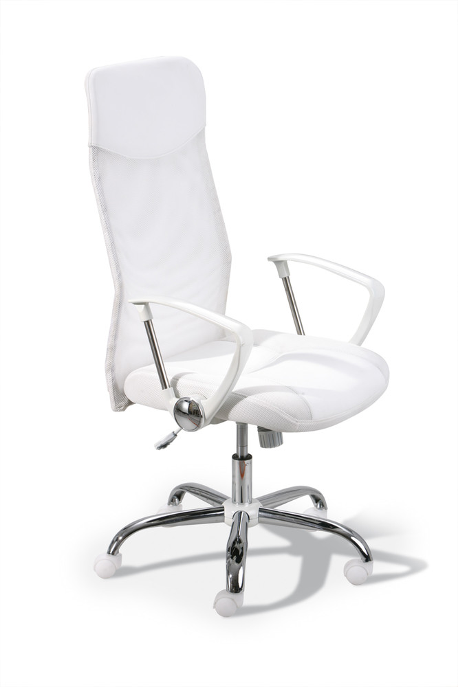 fauteuil de bureau destino blanc achat vente fauteuil de. Black Bedroom Furniture Sets. Home Design Ideas