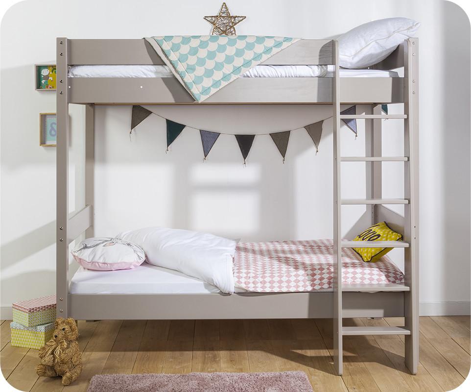 lit superpos enfant clay lin achat vente lit superpos. Black Bedroom Furniture Sets. Home Design Ideas