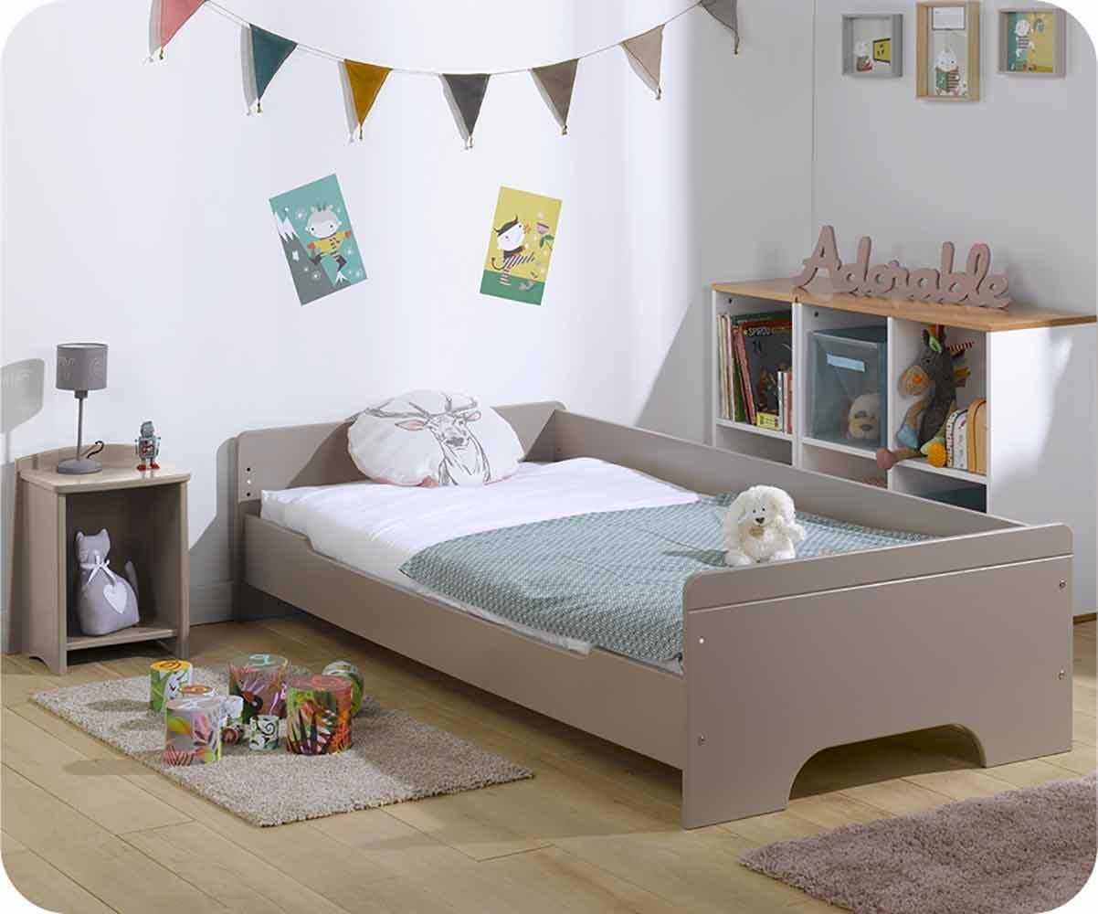 pack lit enfant teen lin 90x 200cm avec matelas et sommier. Black Bedroom Furniture Sets. Home Design Ideas