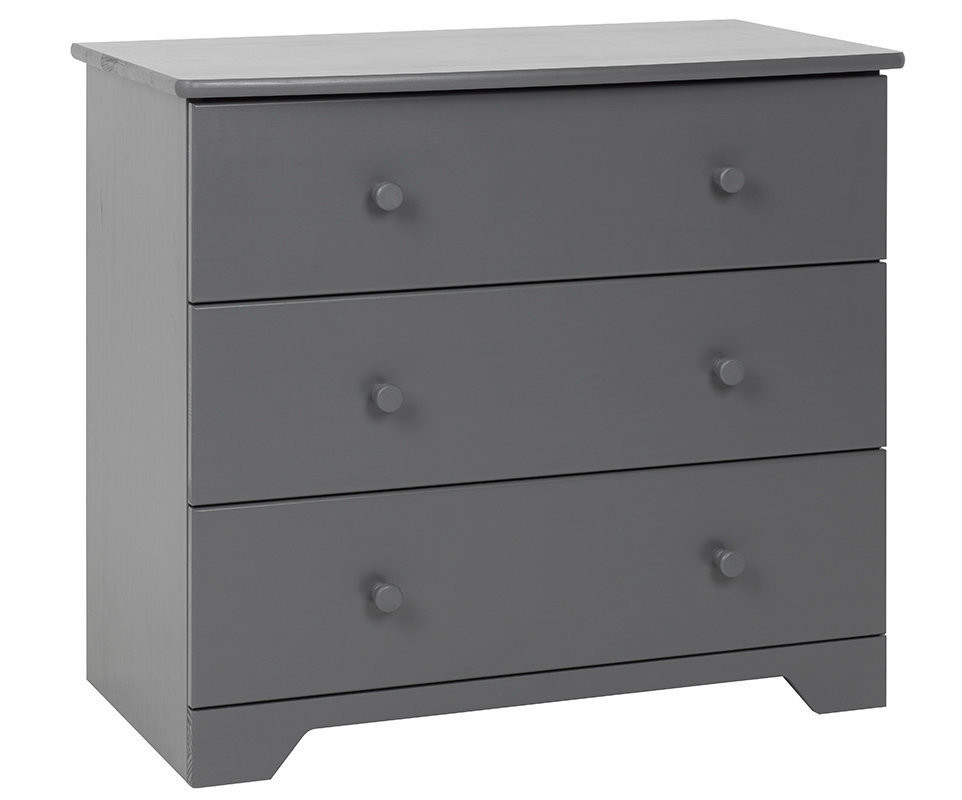 commode langer nature gris anthracite achat commode b b. Black Bedroom Furniture Sets. Home Design Ideas