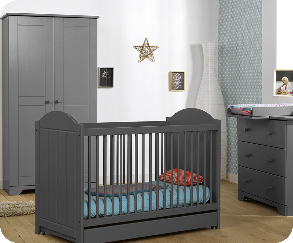 idees d chambre chambre bebe grise chambre buebue nature gris anthracite achat vente with. Black Bedroom Furniture Sets. Home Design Ideas
