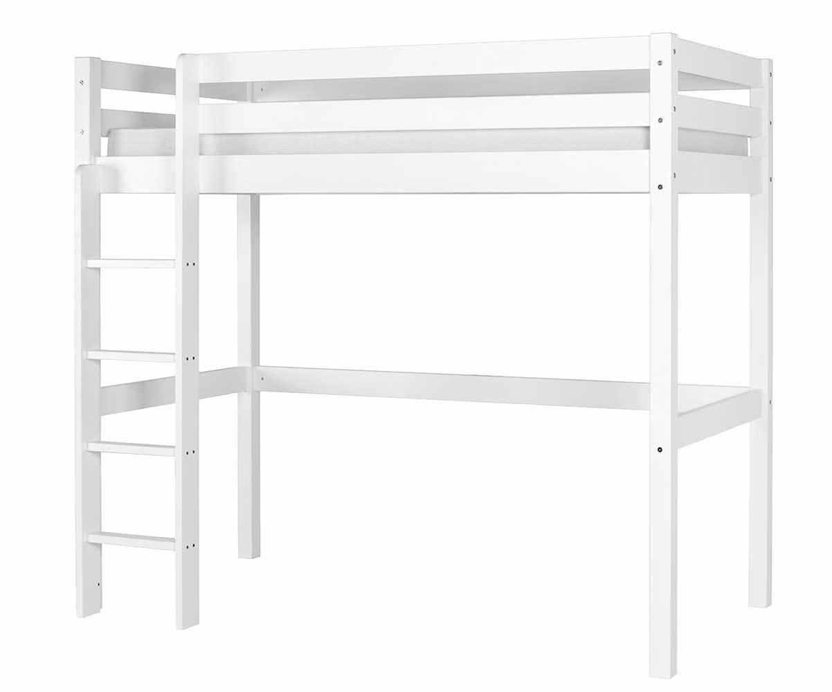 Pack lit enfant mezzanine cargo blanc 90x190 cm - Notice lit mezzanine ...