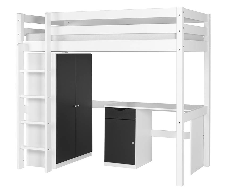 chambre enfant mezzanine set lit enfant mezzanine armoire. Black Bedroom Furniture Sets. Home Design Ideas