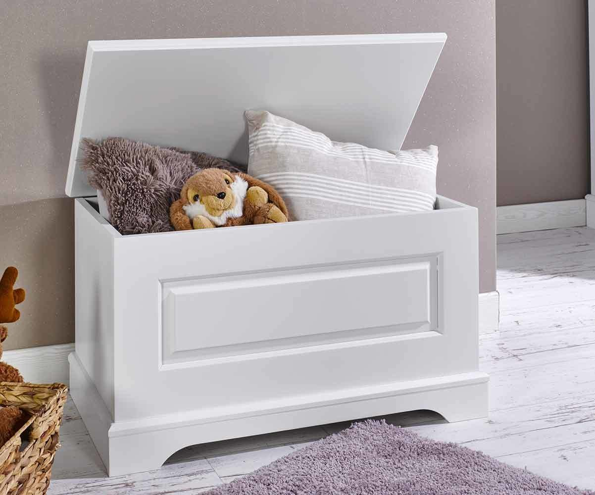 coffre jouet mel blanc mobilier enfant. Black Bedroom Furniture Sets. Home Design Ideas