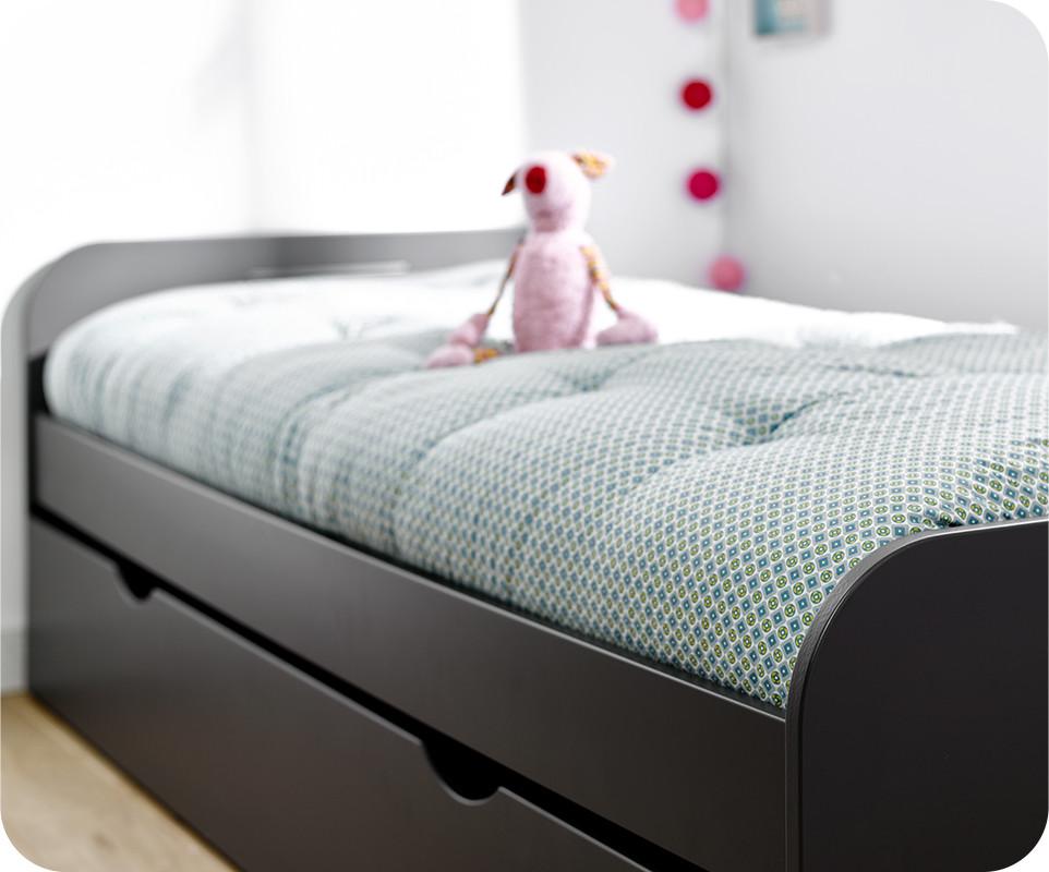 matelas pour lit gigogne 90x190 sommier gigogne lit. Black Bedroom Furniture Sets. Home Design Ideas