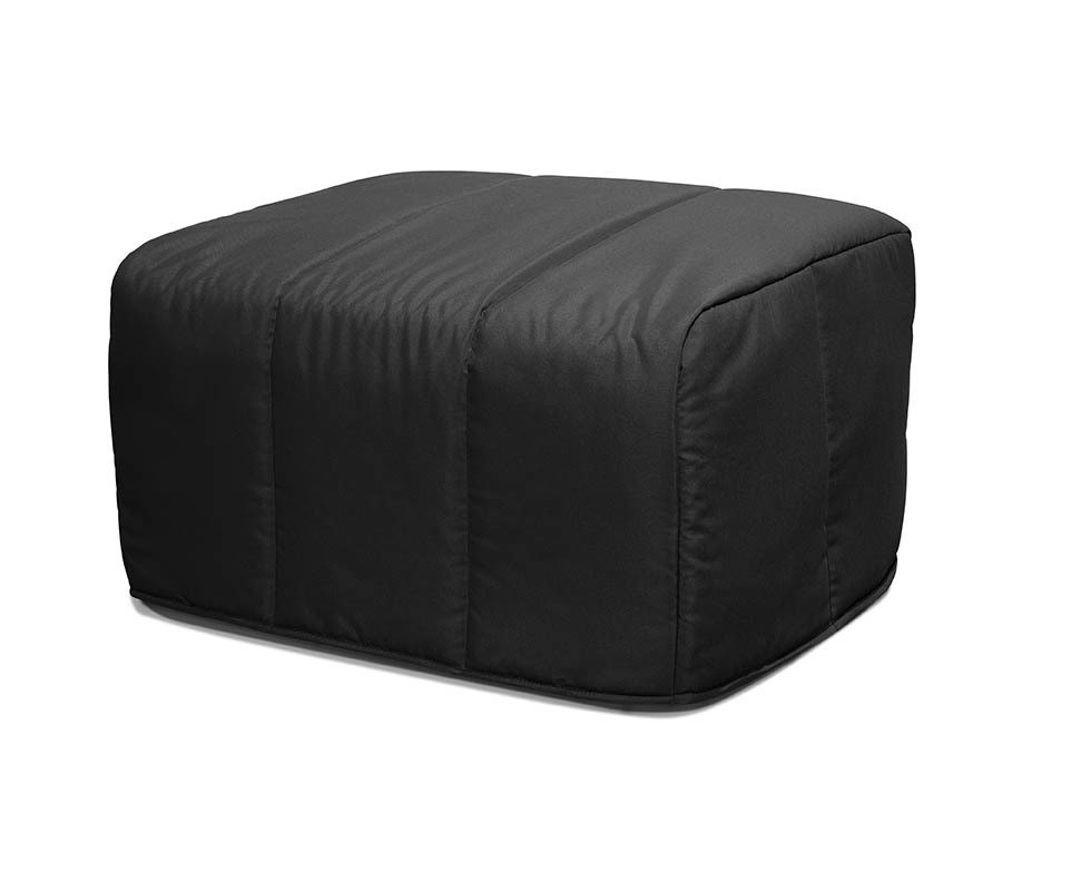 gallery of awesome pouf convertible en lit d appoint pouf convertible muffin noir with pouf. Black Bedroom Furniture Sets. Home Design Ideas