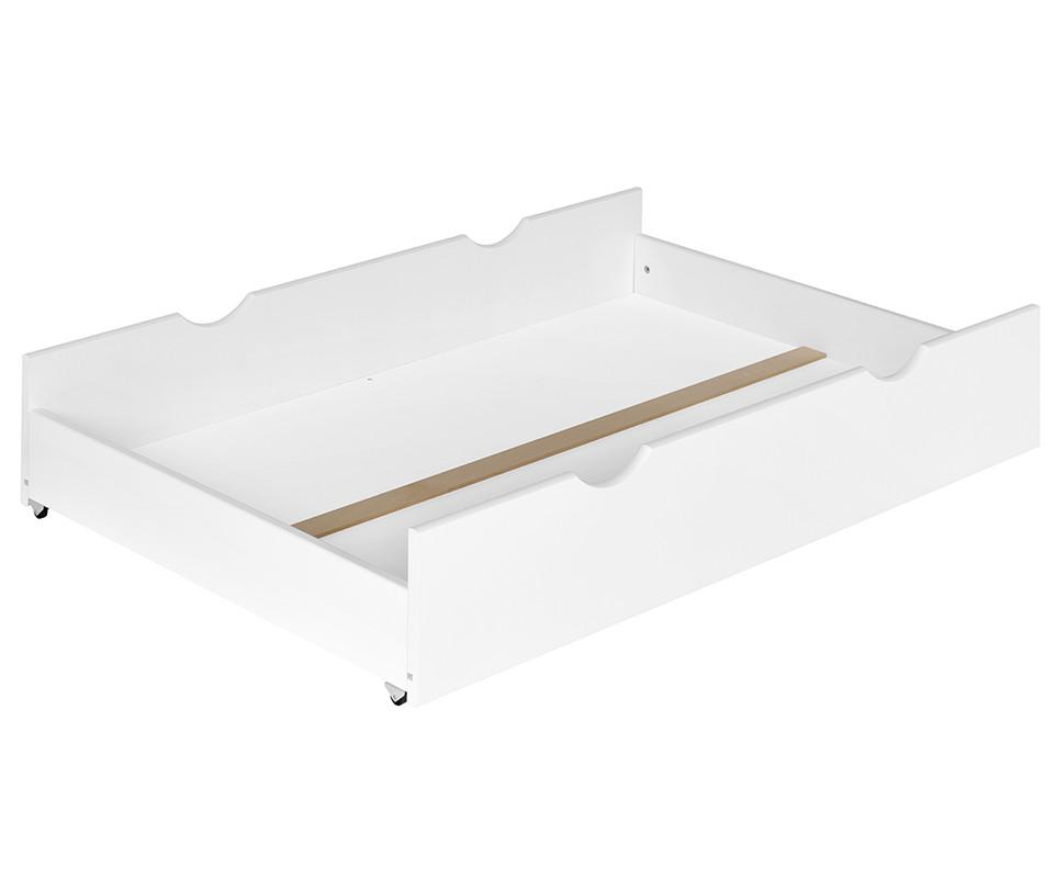 tiroir pour lit enfant volutif willow blanc. Black Bedroom Furniture Sets. Home Design Ideas