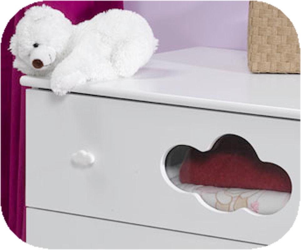 commode b b alt a blanche achat vente commode langer pas cher. Black Bedroom Furniture Sets. Home Design Ideas