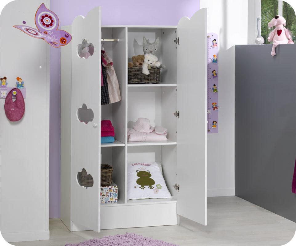 Armoire b b alt a blanche achat vente armoire chambre - Armarios de bebes ...