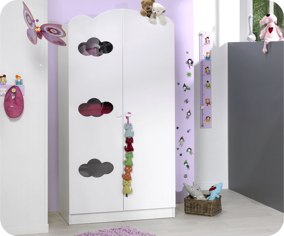 armoire b b alt a blanche achat vente armoire chambre b b. Black Bedroom Furniture Sets. Home Design Ideas