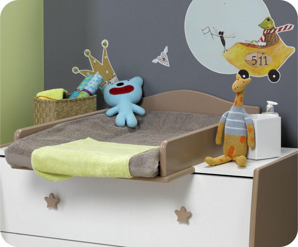 Lit b b chambre b b mobilier enfant cologiques for Table a langer soho