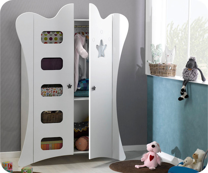 armoire pour chambre de bebe. Black Bedroom Furniture Sets. Home Design Ideas
