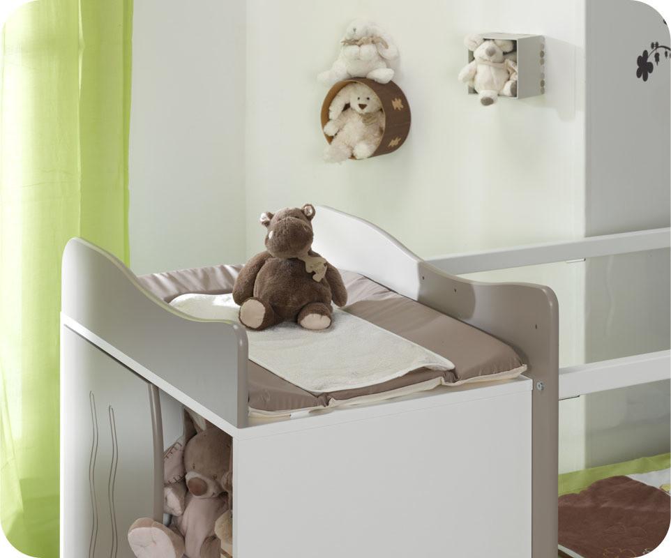 lit bebe evolutif jooly lin et blancjpg - Lit Avec Table A Langer Integree