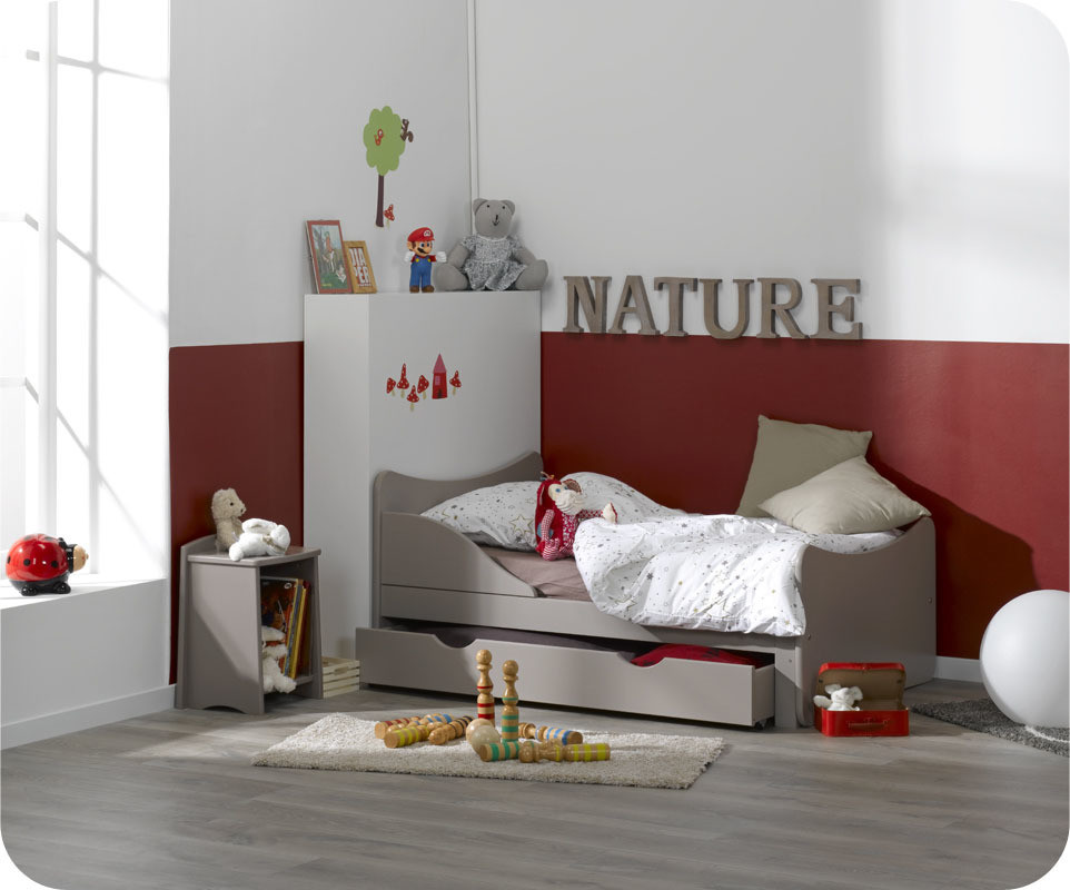 Lit enfant volutif ivoo lin ma chambre d 39 enfant for Lit evolutif