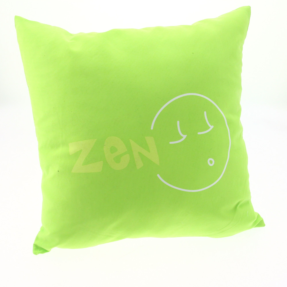 coussin fantaisie vert 40x40 achat vente coussin enfant. Black Bedroom Furniture Sets. Home Design Ideas