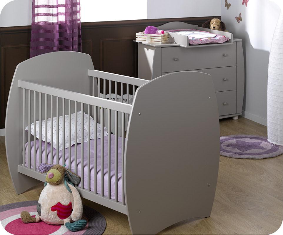 Mini chambre b b r ve lin avec plan langer - Chambre enfant ecologique ...