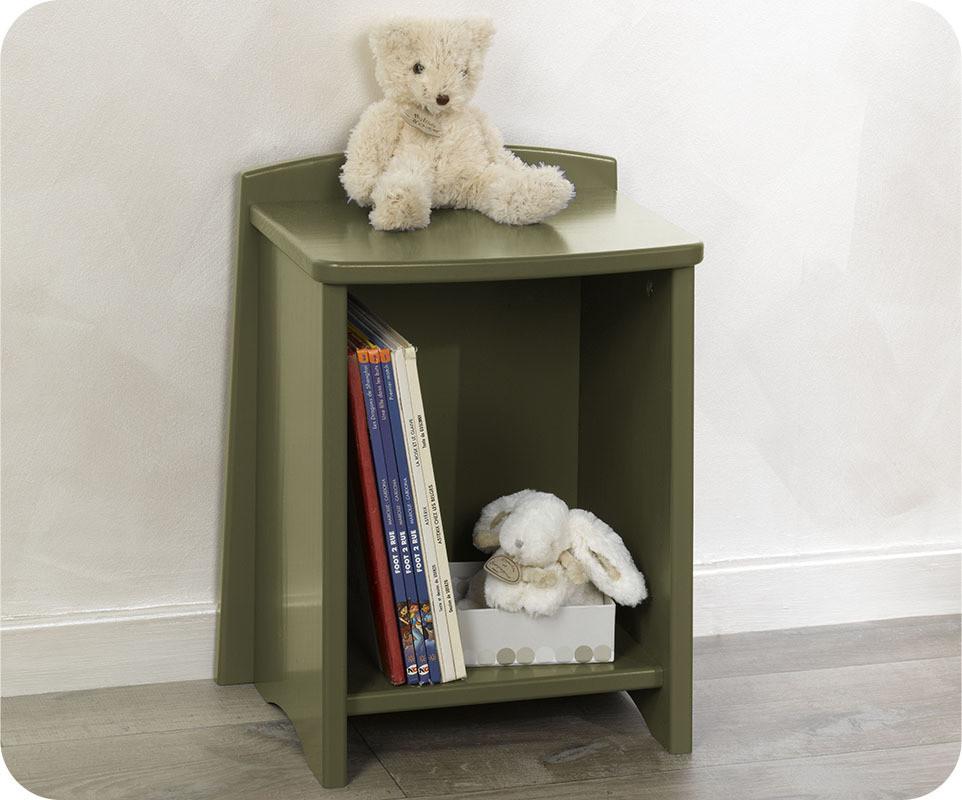 chevet enfant nature olive. Black Bedroom Furniture Sets. Home Design Ideas