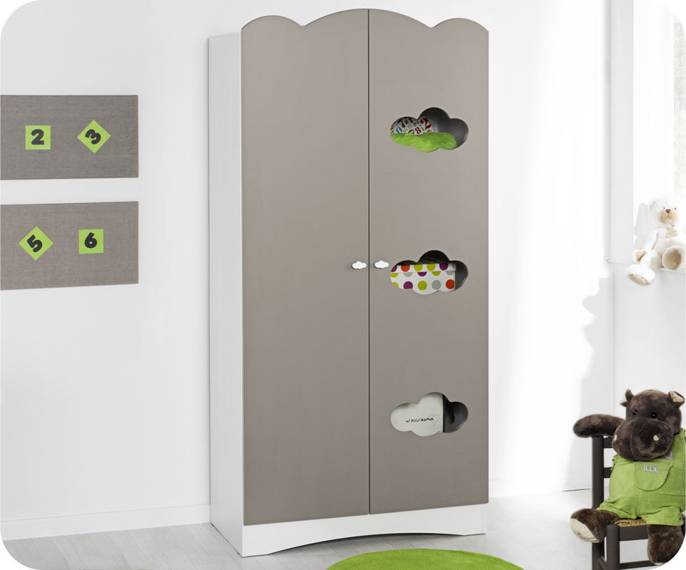 armoire chambre bebe gris avec des id es int ressantes pour la conception de la. Black Bedroom Furniture Sets. Home Design Ideas