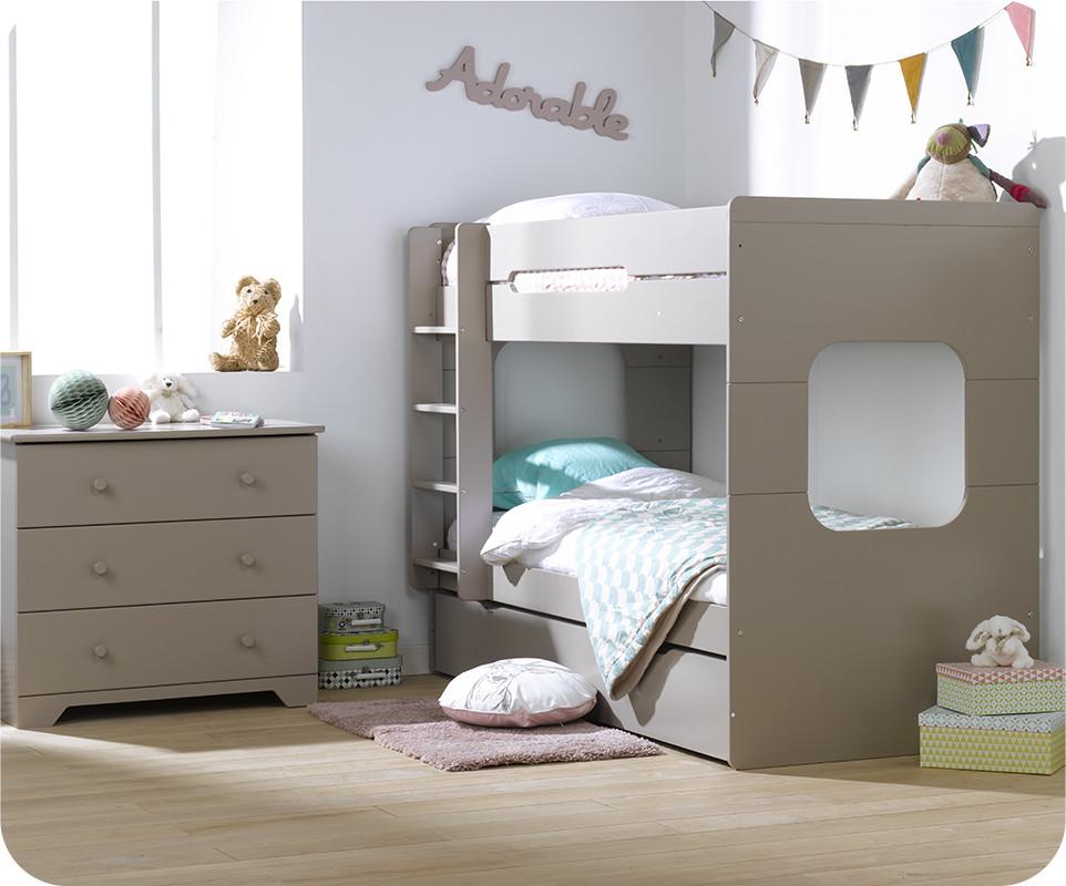 pack lit superpos enfant spark lin 90x200 avec 2 matelas. Black Bedroom Furniture Sets. Home Design Ideas