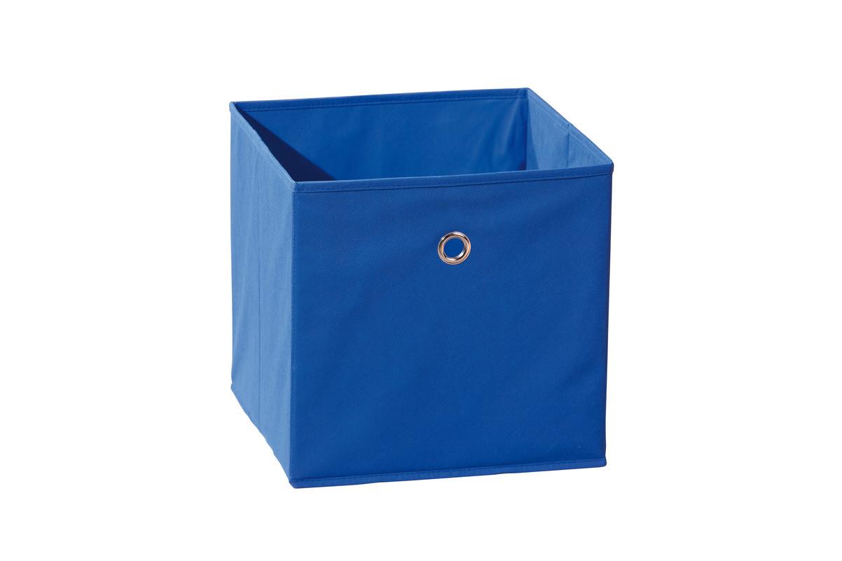 bo te de rangement spring bleue achat vente boite de rangement tissu. Black Bedroom Furniture Sets. Home Design Ideas