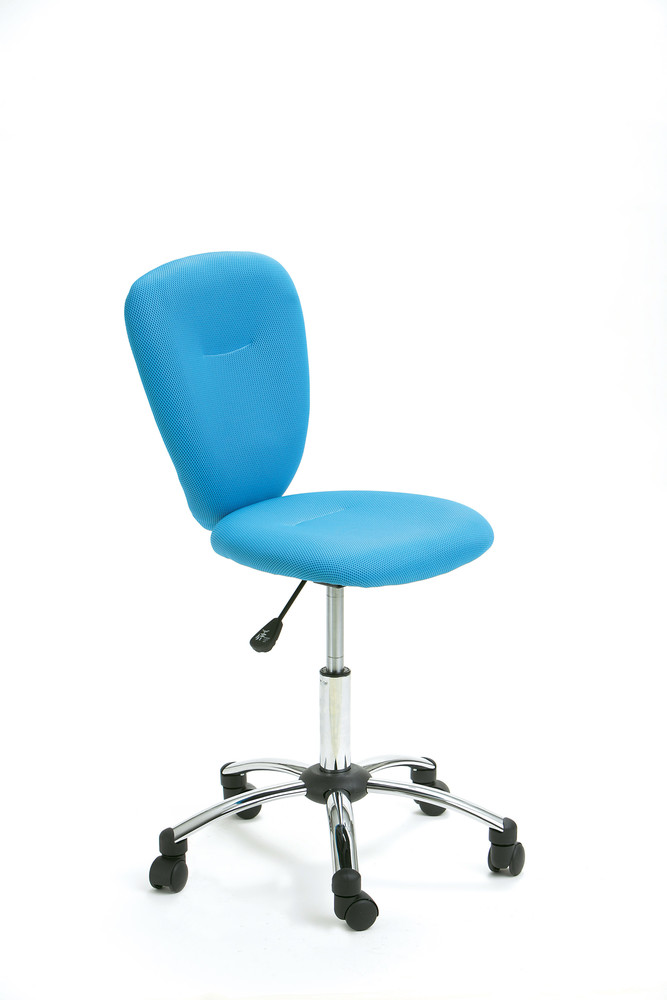 Chaise de bureau pop bleu achat vente chaises de bureau - Chaise de bureau bleu ...