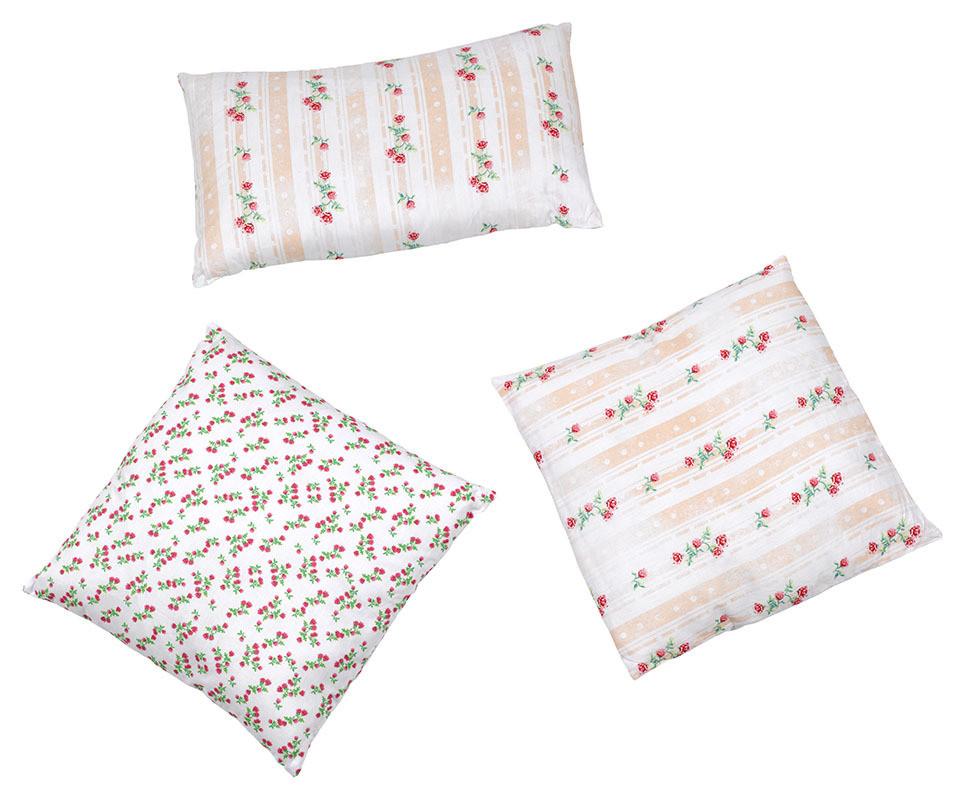 lot de 3 coussins cool blancs achat vente coussins de. Black Bedroom Furniture Sets. Home Design Ideas