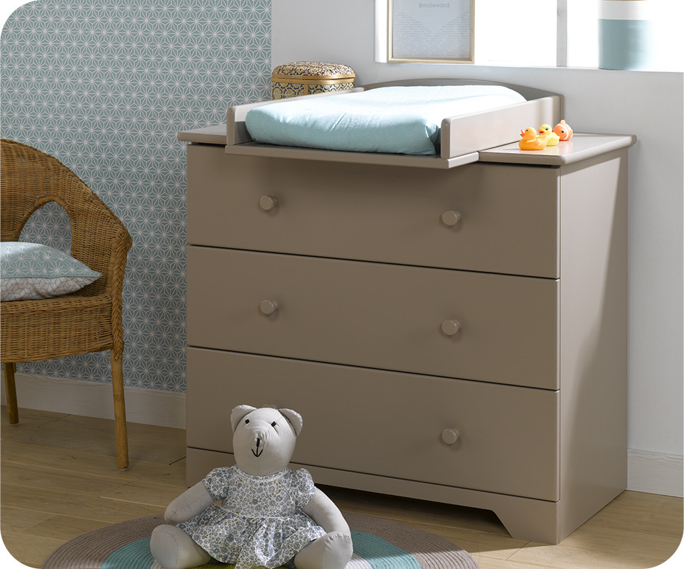 commode langer nature lin achat vente commode chambre b b. Black Bedroom Furniture Sets. Home Design Ideas