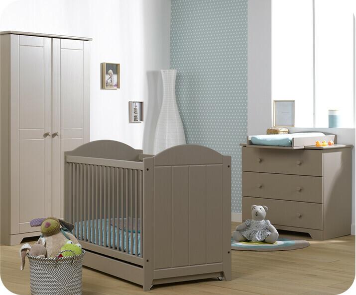 chambre b b bois massif belle et naturelle pour votre enfant. Black Bedroom Furniture Sets. Home Design Ideas