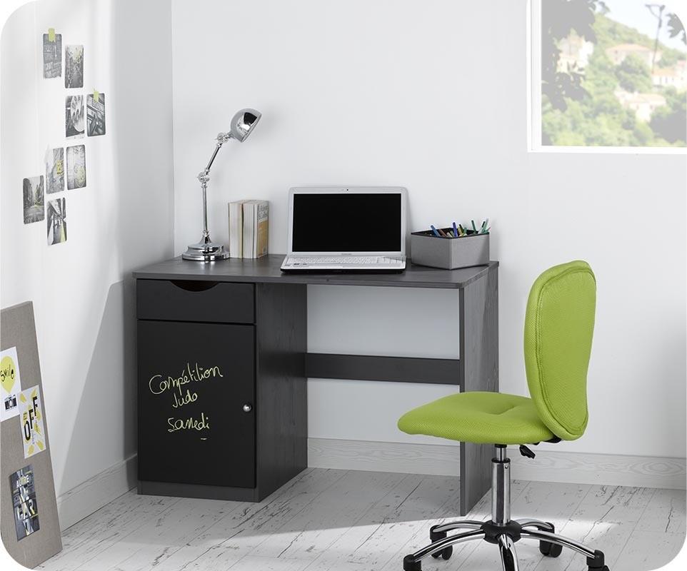 bureau enfant cargo gris anthracite. Black Bedroom Furniture Sets. Home Design Ideas