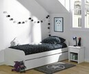 Pack Lit enfant Twist Blanc 90x190 cm