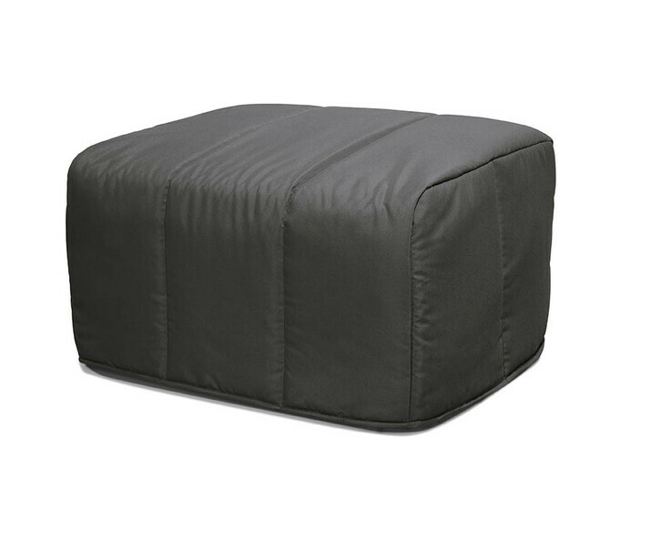 Pouf Convertible Muffin Gris Anthracite