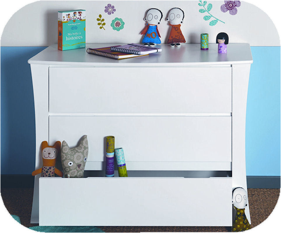 Commode enfant paco blanche ma chambre d 39 enfant com - Commode blanche enfant ...