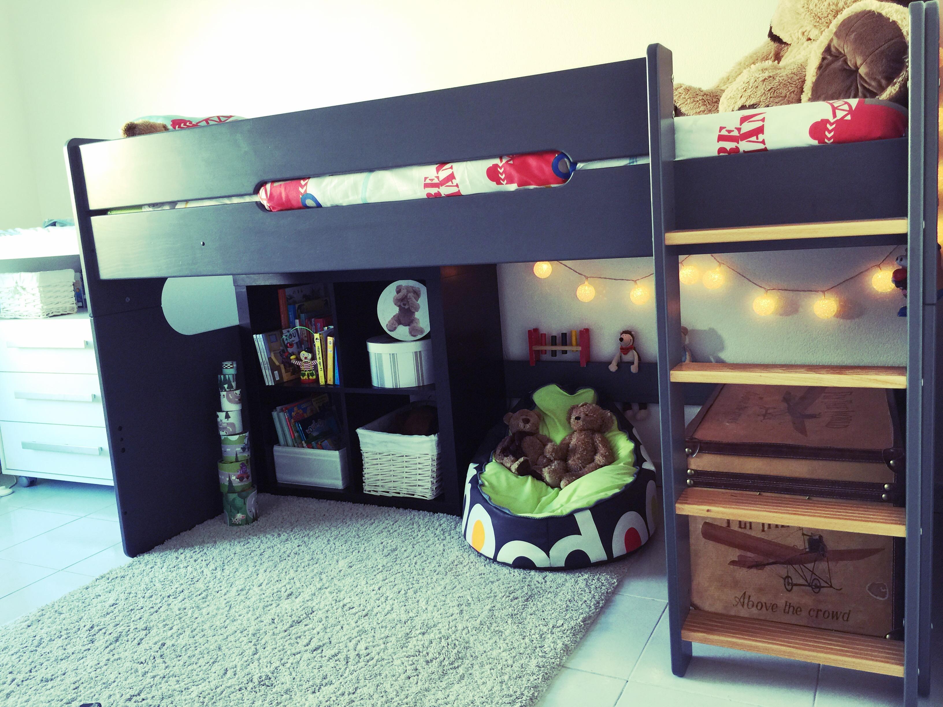 d couvrez le lit mi hauteur spark gris de matt o. Black Bedroom Furniture Sets. Home Design Ideas