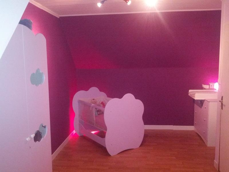 Peinture Chambre Violet Et Rose Design De Maison