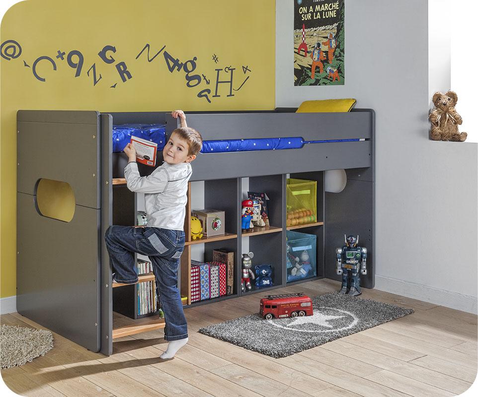 d couvrez la collection spark en version mi hauteur ou superpos e. Black Bedroom Furniture Sets. Home Design Ideas