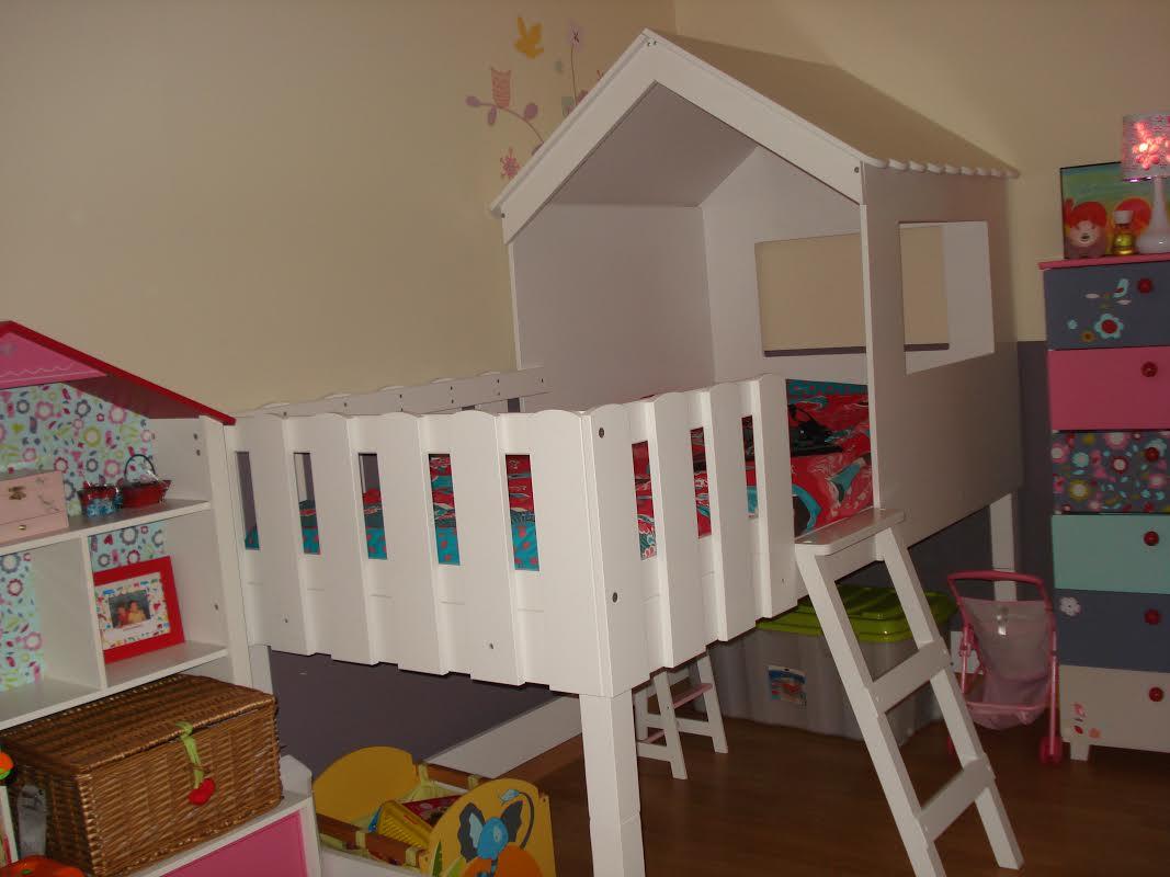 D couvrez le lit enfant cabane swam blanc aux multiples atouts - Lit pour les enfants ...