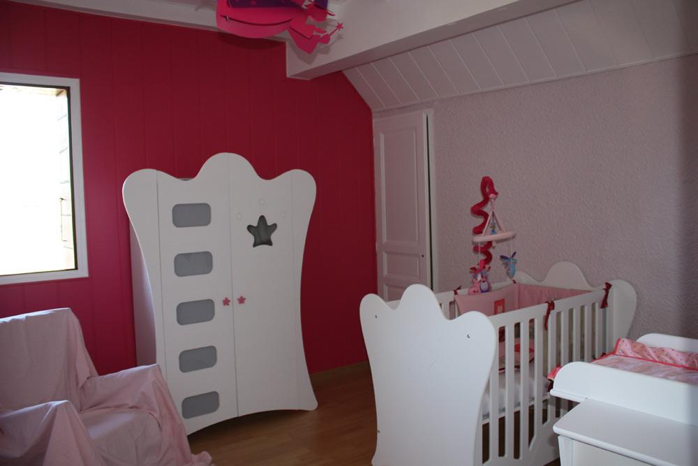 Chambre b b girly 032125 la meilleure conception d 39 inspiration pour votre - Belle chambre blanche ...