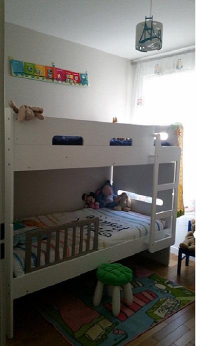 lit superpos enfant eden blanc 90x190 cm. Black Bedroom Furniture Sets. Home Design Ideas