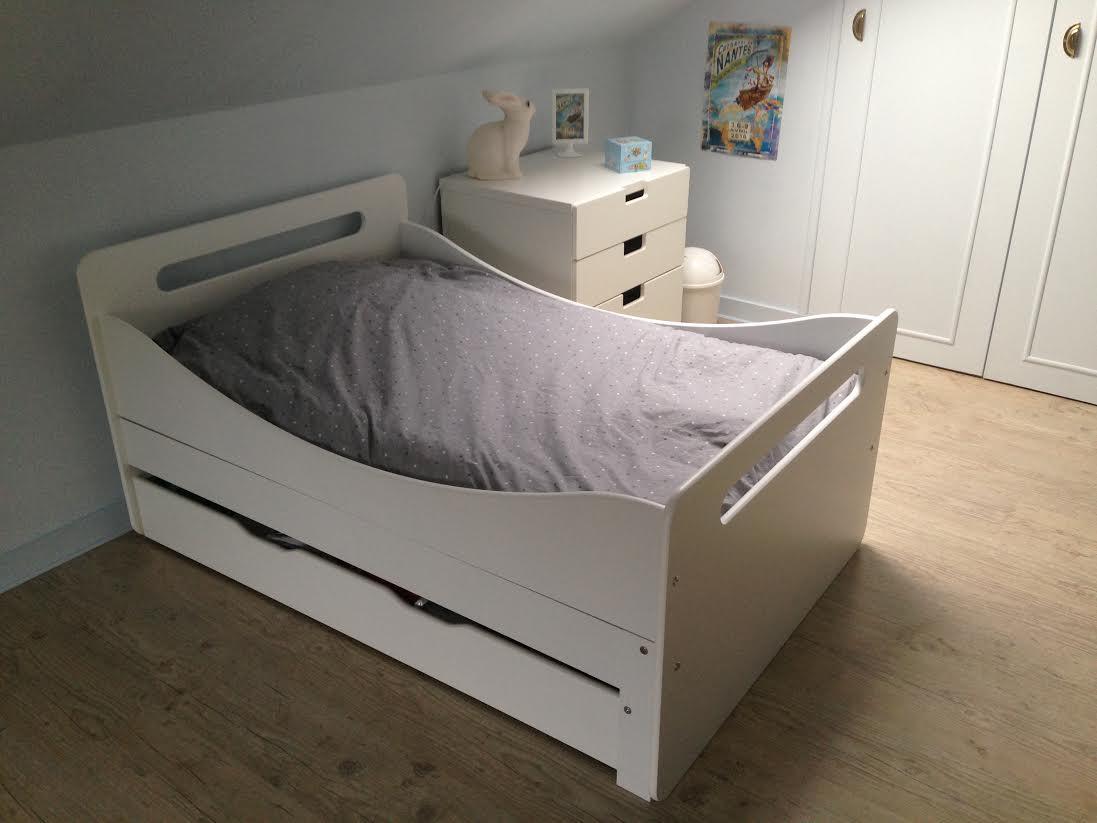 lit enfant volutif eden blanc. Black Bedroom Furniture Sets. Home Design Ideas