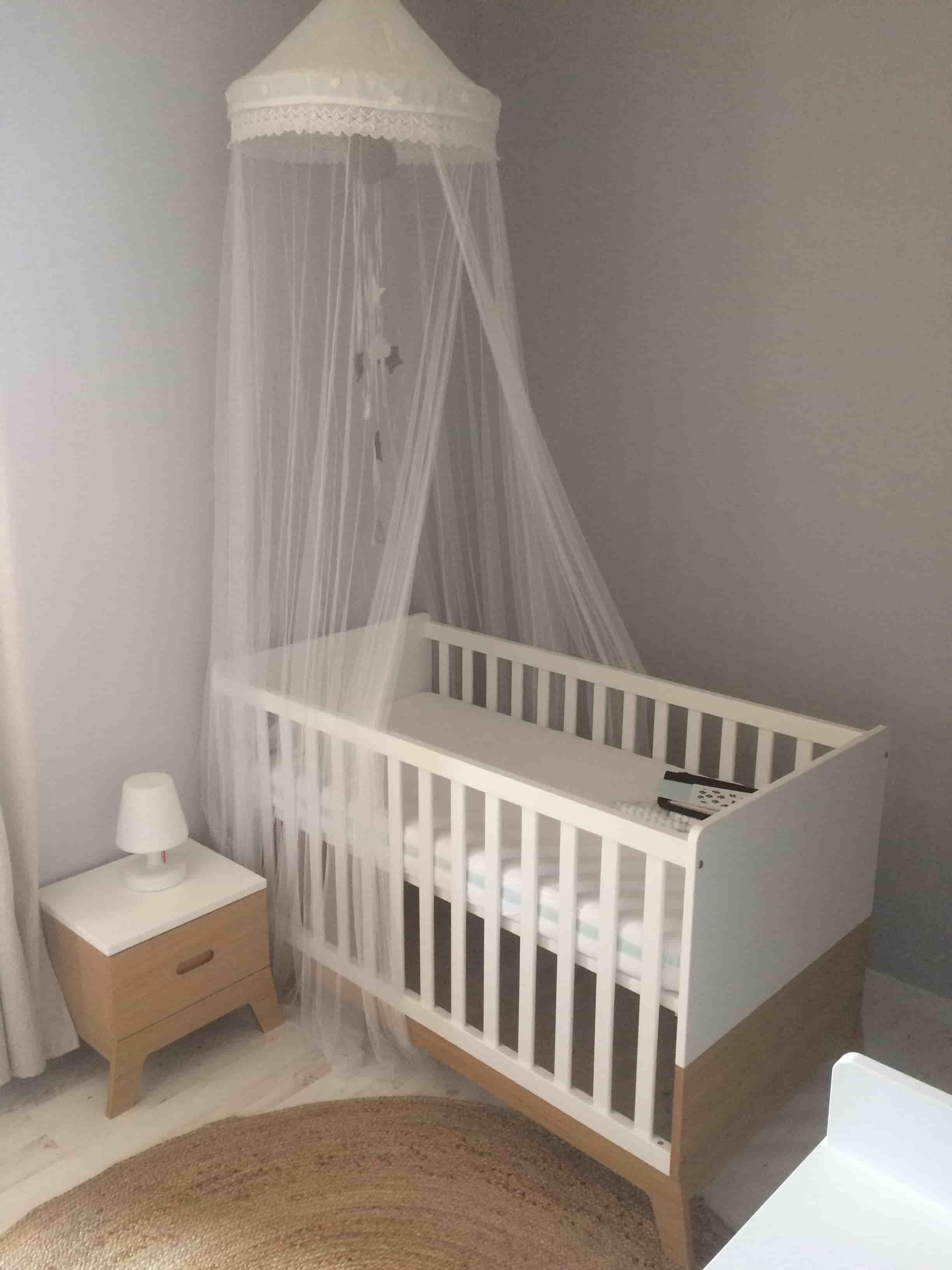 chevet enfant aloa bois et blanc. Black Bedroom Furniture Sets. Home Design Ideas