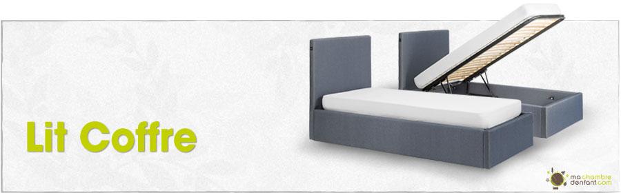 lit enfant coffre. Black Bedroom Furniture Sets. Home Design Ideas