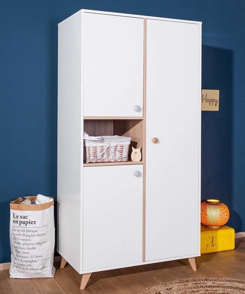 Armoire Murale Pour Chambre chambre bébé complète - pepper